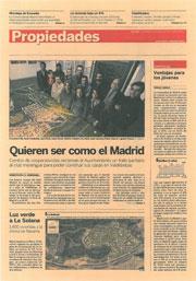 Quieren ser como el Madrid