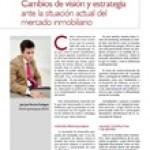 Artículo sobre la situación actual del mercado Inmobiliario. Juan José Perucho