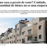 Las cooperativas de viviendas versus comunidades de bienes.