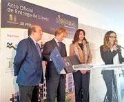 Grupo Ibosa celebra el Acto Oficial de Entrega de Llaves de 28 VPPL en El Escorial