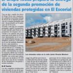 El Grupo Ibosa prepara la entrega de la segunda promoción de viviendas protegidas en El Escorial