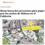 IBOSA lanza dos proyectos para pujar por los suelos del Mahou en el Calderón