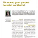 Un nuevo gran parque forestal en Madrid